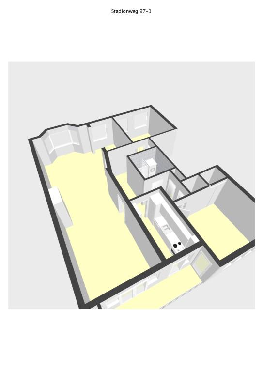 Stadionweg 97-I,Amsterdam,Noord-Holland Nederland,2 Slaapkamers Slaapkamers,1 BadkamerBadkamers,Appartement,Stadionweg,1,1085