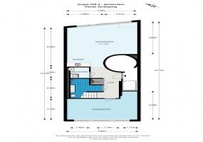 Singel 428 IV, Amsterdam, Noord-Holland Nederland, 3 Bedrooms Bedrooms, ,2 BathroomsBathrooms,Apartment,For Rent,Singel,4,1265