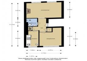 Bloedstraat 22 II, Amsterdam, Noord-Holland Nederland, 1 Bedroom Bedrooms, ,1 BathroomBathrooms,Apartment,For Rent,Bloedstraat 22 II,2,1282
