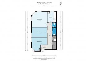 Magalhaensplein 22 I 1057 VG, Amsterdam, Noord-Holland Netherlands, 2 Slaapkamers Slaapkamers, ,1 BadkamerBadkamers,Appartement,Huur,Magalhaensplein,1,1463