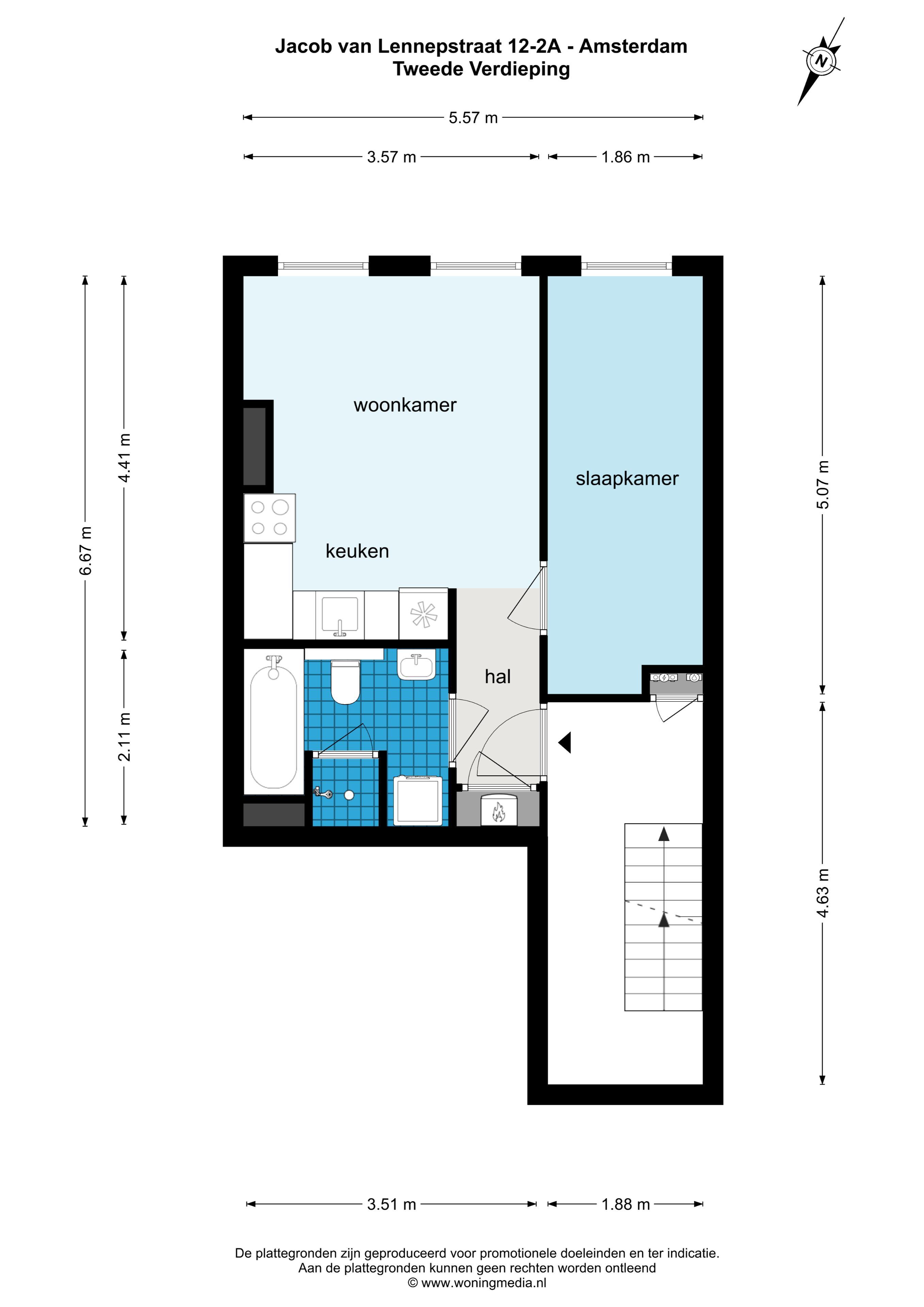 Jacob van Lennepstraat 12 2A, Amsterdam, Noord-Holland Nederland, 1 Slaapkamer Slaapkamers, ,1 BadkamerBadkamers,Appartement,Huur,Jacob van Lennepstraat 12 2A,2,1481