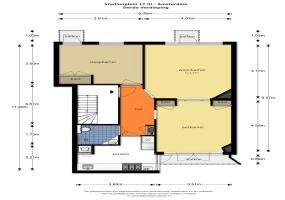 Stadionplein 17 III 1076 CG, Amsterdam, Noord-Holland Nederland, 1 Slaapkamer Slaapkamers, ,1 BadkamerBadkamers,Appartement,Huur,Stadionplein ,3,1488