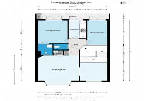 Curacaostraat 75 II 1058 BP, Amsterdam, Noord-Holland Netherlands, 2 Slaapkamers Slaapkamers, ,1 BadkamerBadkamers,Appartement,Huur,Curacaostraat ,2,1495