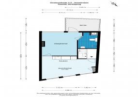 Oostersekade 3 1011 LH, Amsterdam, Noord-Holland Netherlands, 1 Slaapkamer Slaapkamers, ,1 BadkamerBadkamers,Appartement,Huur,Oostersekade,2,1500