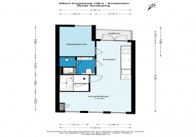 Albert Cuypstraat 136 I 1073 BJ, Amsterdam, Noord-Holland Nederland, 1 Slaapkamer Slaapkamers, ,1 BadkamerBadkamers,Appartement,Huur,Albert Cuypstraat,1,1532