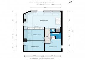 Eerste Helmersstraat 205 E 1054 DV, Amsterdam, Noord-Holland Nederland, 3 Slaapkamers Slaapkamers, ,1 BadkamerBadkamers,Appartement,Huur,Eerste Helmersstraat 205 E,1536