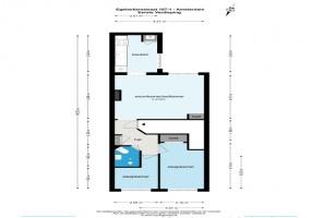 Egelantiersstraat 107 I 1015 PZ, Amsterdam, Noord-Holland Nederland, 2 Slaapkamers Slaapkamers, ,1 BadkamerBadkamers,Appartement,Huur,Egelantiersstraat ,1,1550